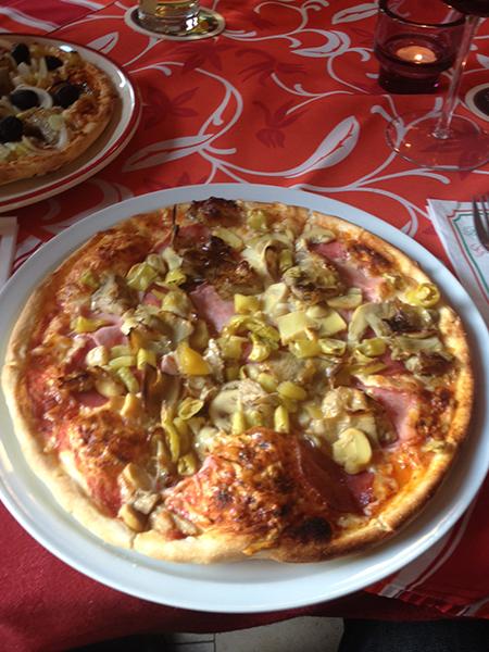 Pizza Speziale Restaurant La Fortuna Thüngfeld Schlüsselfeld