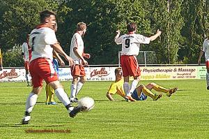 TSV Schlüsselfeld vs Frensdorf Fussballspiel