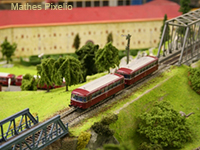 6 Modellbahnausstellung in der Schlüsselfelder Stadthalle