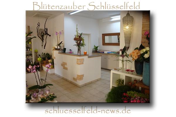 Blütenzauber Schlüsselfeld Foto Blumen-Laden