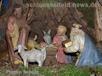 Krippeneröffnung Marktplatz Auftakt zum Krippenweg Schlüsselfeld - News 2012