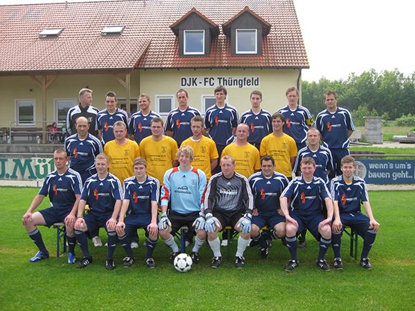 1 Mannschaft Fussball FC Thüngfeld