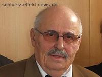 Ehrung Heinz Hofmann mit Verdienstmedaille