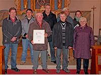 Kirchenrat Georg Dannert 30 Jahre im Dienst der Kirche