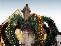 Osterbrunnen Schlüsselfeld von Brigitte und Walter Hemmerlein