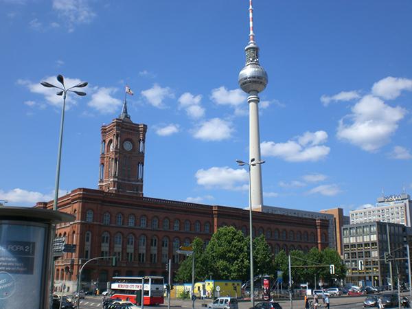 Fernsehturm Berlin Alexanderplatz Ausflug Kerwasburschen Schlüsselfeld