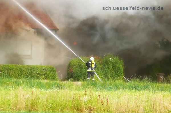 Feuerwehr Schlüsselfeld im Einsatz 2013 Finanzplanung Zürich Versicherung Hirschaid Bamberg Burgebrach Schlüsselfeld