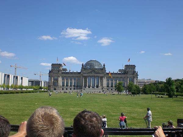 Kerwasburschen Ausflug Schlüsselfeld Berlin Reichstag Gebäude Rundfahrt