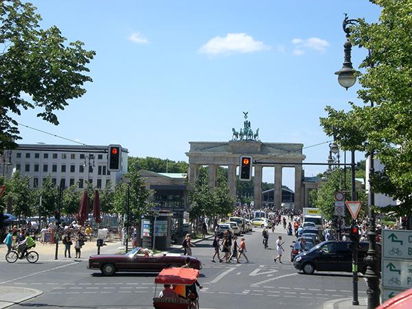 Kerwasburschen Ausflug Schlüsselfeld Brandenburger Tor Berlin