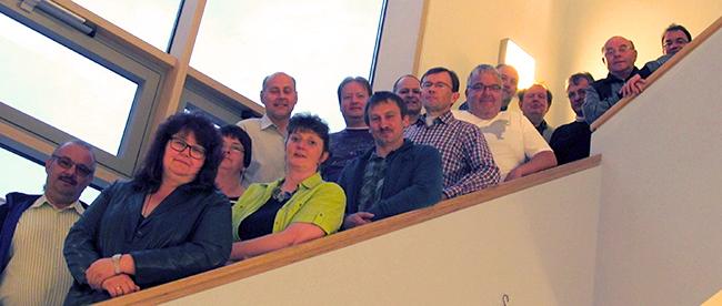 Dreifrankenland rückt zusammen Konstituierende Sitzung 2014