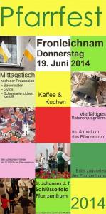 Pfarrfest Schlüsselfeld 2014