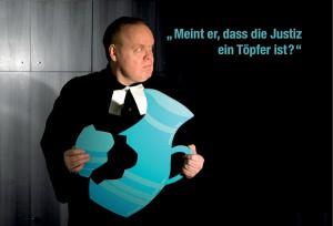 Fränkischer Theatersommer Der zerbrochene Krug in Schlüsselfeld