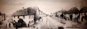 Stadt Schlüsselfeld alter Marktplatz Stadttor Haus Immobilie Wohnung