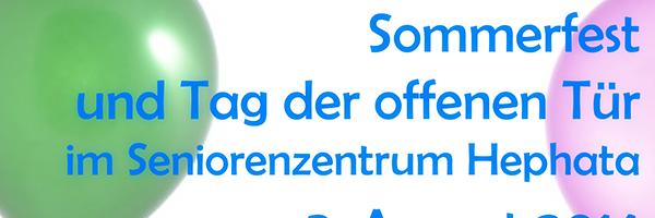 Header Tag der offenen Tür Pflegeheim Hephata Aschbach Schlüsselfeld News Nachrichten Foto