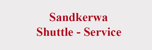 Sandkerwa Shuttle-Service Expresss 2014 2015 Bamberg