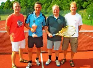 Christopher Enk Schlüsselfeld gewinnt die Vereinsmeisterschaft des TSV Aschbach