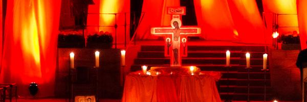 Taize ein spirituelles Kraftzentrum Kirche Pfarrei Schlüsselfeld Aschbach Nacht der Lichter