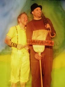 Bücherei Schlüsselfeld Kindertheater mit Chapeau Claque Oh wie schön ist Panama