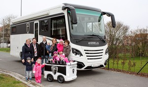 Morelo Reisemobile Kindergarten Schlüsselfeld Pressemitteilung