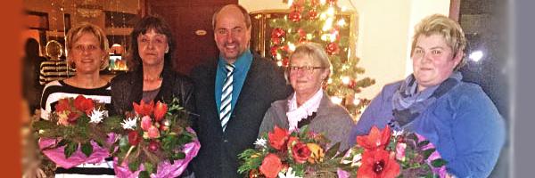 Schulweghelferinnen Schlüsselfeld Dienst beendet Verabschiedung Bürgermeister Johannes Krapp