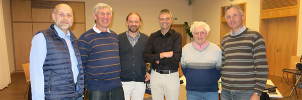 Männertreff März 2015 Männer im Gespräch Aschbach Schlüsselfeld Stammtisch Michael Thiem Laufer Mühle