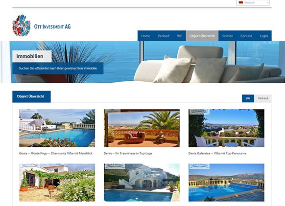 Immobilien Costa Blanca Denia Spanien abdenia Ott Investment AG Schlüsselfeld