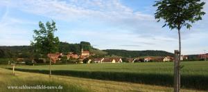 Castell Unterfranken Weinfest Bayern Deutschland Kitzingen Wiesentheid