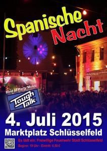 Spanische Nacht Schlüsselfeld 2015 Feuerwehr Schlüsselfeld Marktplatz Veranstaltung Musik Party Bayern Oberfranken