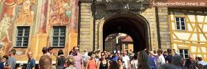 Header Sandkerwa Bamberg 2015 Fotos Bilder Altes Rathaus Brücke Besucher