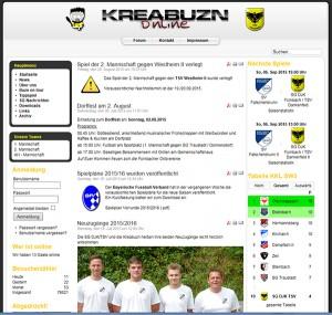 Kreabuzn Homepage Fußball Rauhenebrach Fürnbach online sg djk tsv