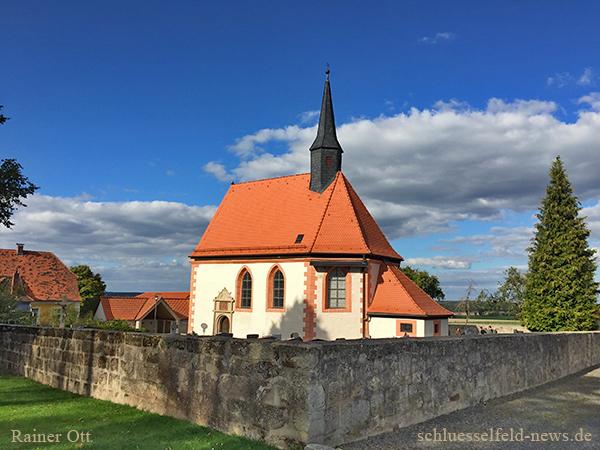 St Rochus Kapelle Grossgressingen Kleingressingen Ebrach Oberfranken Kirche