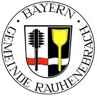 Wappen Siegel Rauhenebrach Gemeinde Unterfranken Hassberge Versicherung Friseur