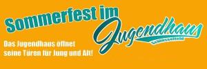 Sommerfest Jugendhaus Schlüsselfeld Header