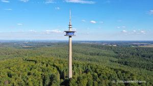 Funkturm Schlüsselfeld Burgwindheim Bürgerwald