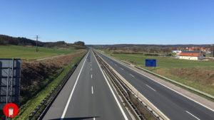 Vollsperrung Autobahn A3 Anschlussstelle Schlüsselfeld Höchstadt Nord
