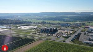 Gewerbe Schlüsselfeld Gewerbegebiet wachsen expandieren Morelo ADAC Poraver