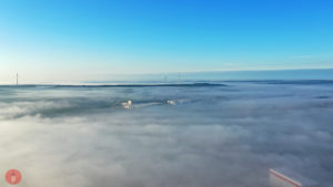 Nebel Schlüsselfeld Thüngfeld Gleißenberg Poraver
