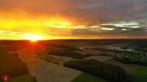 Sonnenuntergang Heuchelheim Aschbach