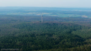 Turm Wald Luftaufnahme Funkturm