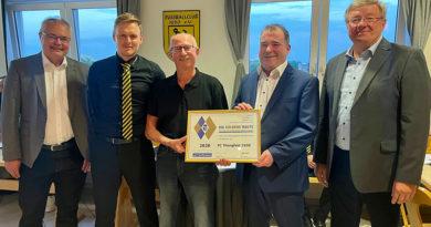 Auszeichnung FC Thüngfeld Bayerischer Fußballverband