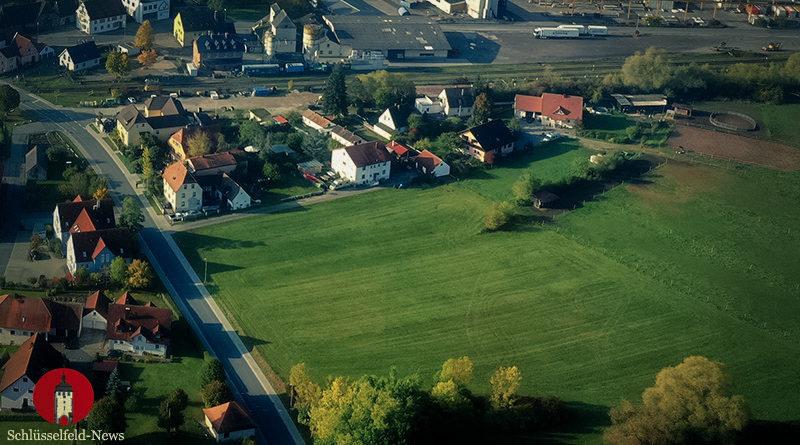 Bebauungsplan Wohnpark Dreifranken Aschbach West