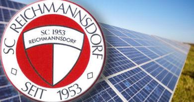 Dachsanierung Photovoltaik SC Reichmannsdorf